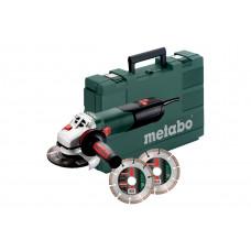 Кутова шліфувальна машина Metabo W 12-125 Quick Set (600398510)
