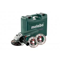 Угловая шлифовальная машина Metabo W 850-125 SET (601233510)