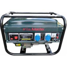 Генератор бензиновий 2400 Вт BauMaster PG-87124X