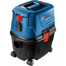 Пылесос для влажной и сухой уборки Bosch GAS 15 PS Professional (06019E5100)