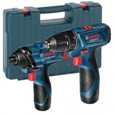 Комплект аккумуляторных инструментов Bosch GDR 120 LI + GSR 120 LI COMBO (06019F0002)