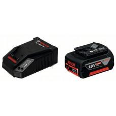 Базовый комплект Bosch GBA 18 В 4.0 Ач + AL 1860 CV (1600Z00043)