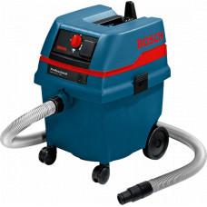 Пилосос для вологого та сухого прибирання  Bosch GAS 25 L SFC Professional (0601979103)
