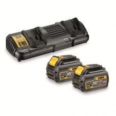 Зарядний пристрій 2 акумулятора XR FLEXVOLT DeWALT DCB132T2