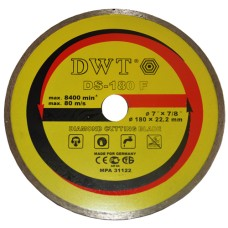 Алмазный диск по камню DWT TDS-180 F (76180)