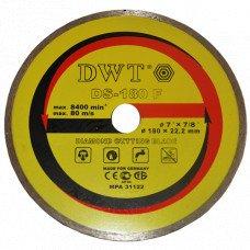 Алмазний диск по каменю DWT TDS-180 F (76180)