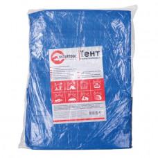 Тент водонепроницаемый, полипропиленовый (тарпаулин), 3*5 м с люверсами INTERTOOL AB-0305