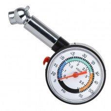 Вимірювач тиску в шинах цифровий з підсвіткою AT-1003 INTERTOOL
