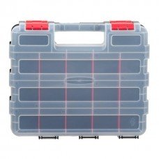 """Пластиковый двухсторонний органайзер для инструментов 12,5"""" 320*270*80мм INTERTOOL BX-4022"""