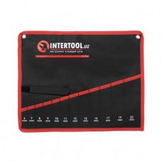 Чехол для гаечных ключей 12 карманов INTERTOOL BX-9012