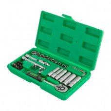 """Набір інструментів 36шт , 1/4 """" INTERTOOL ET - 6036SP  (ET-6036SP)"""