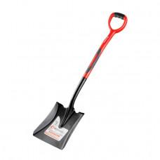 Лопата совкова, ручка з фібергласу, 238х282х1050 мм INTERTOOL FT-2014