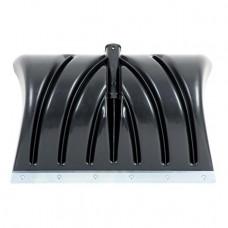 Лопата для прибирання снігу 505*340мм з ручкою 1300 мм INTERTOOL FT-2022