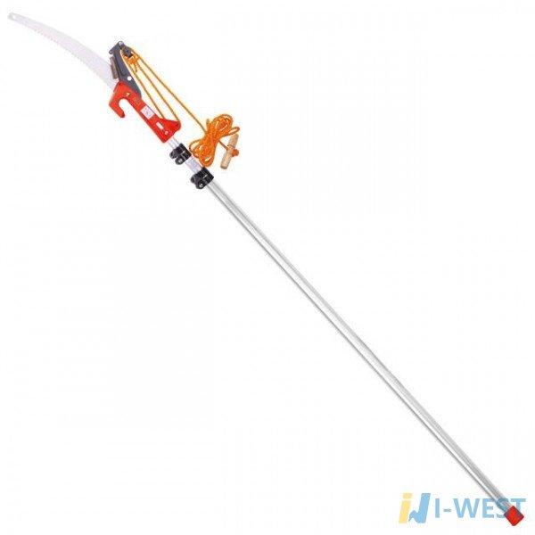 Гілкоріз штанговий з телескопічною ручкою 3,75 м, полотно 350мм INTERTOOL HT-3116
