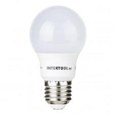 Світлодіодна лампа LED 7Вт, E27, 220В, INTERTOOL LL-0003