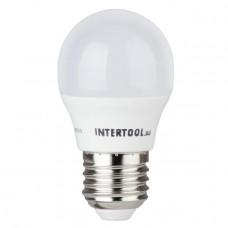 Світлодіодна лампа LED 5Вт, E27, 220В, INTERTOOL LL-0112