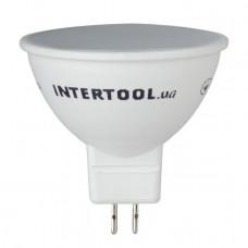 Світлодіодна лампа LED 5Вт, GU5.3, 5Вт, 220В, INTERTOOL LL-0202