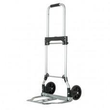 Візок ручна складна до 60 кг, 450*420*960, колеса 150 мм, (алюмінієва) INTERTOOL LT-9005