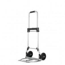 Візок ручна складна до 60 кг, 385*375*960, колеса 130 мм, (сталева) INTERTOOL LT-9006
