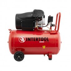 Компресор 100 л , 2.23 кВт , 220 В , 8 атм , 354 л / хв , 2 циліндра INTERTOOL PT - 0005  (PT-0005)