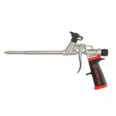 Пістолет для піни з тефлоновим покриттям тримача балона 4 насадки професійний INTERTOOL PT-0609