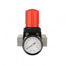 """Регулятор тиску 1/4 """", 1-16 бар, 1600 л / хв, професійний INTERTOOL PT-1429"""