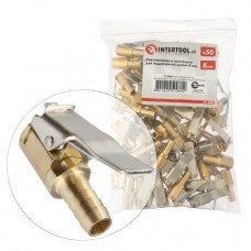 Наконечники 50 шт . до пістолета для підкачки на шланг 8мм INTERTOOL PT - 5008  (PT-5008)