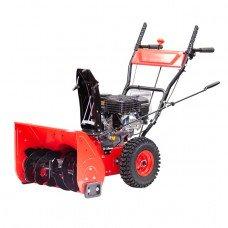Снігоприбиральник бензиновий самохідний, 5.5 к.с. / 4 кВт, висота / ширина захвату 420/560 мм, передачі 4 вперед / 2 назад INTERTOOL SN-5000