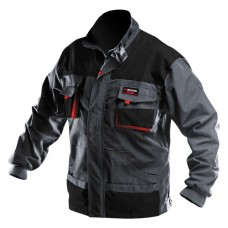 Куртка робоча 80 % поліестер , 20 % бавовна , щільність 260 г / м2 , XL INTERTOOL SP - 3004  (SP-3004)