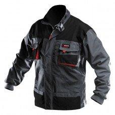 Куртка робоча 80 % поліестер , 20 % бавовна , щільність 260 г / м2 , XXL INTERTOOL SP - 3005  (SP-3005)