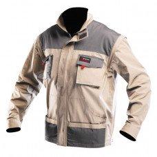 Куртка робоча 2 в 1 , 100 % бавовна , щільність 180 г / м2 , M INTERTOOL SP -3032  (SP-3032)