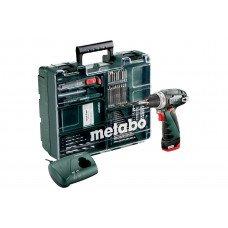 PowerMaxx BS Set (600079880) Акумуляторний дриль-шуруповерт Metabo