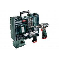 PowerMaxx BS Basic Set (600080880) Акумуляторний дриль-шуруповерт Metabo