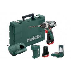PowerMaxx BS Basic Set (600080910) Аккумуляторная дрель-шуруповерт Metabo