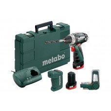 PowerMaxx BS Basic Set (600080910) Акумуляторний дриль-шуруповерт Metabo