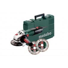 W 9-125 Quick Set (600374510) Кутова шліфувальна машина Metabo