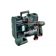 PowerMaxx Basic SB Set (600385870) Аккумуляторная ударная дрель Metabo