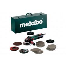 WEV 15-125 Quick Inox Set (600572500) Угловая шлифовальная машина Metabo