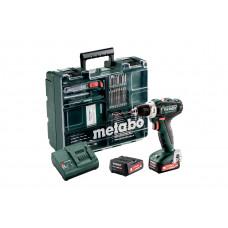 PowerMaxx BS 12 Set (601036870) Аккумуляторная дрель-шуруповерт Metabo