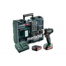 PowerMaxx SB 12 Set (601076870) Акумуляторний ударний дриль Metabo