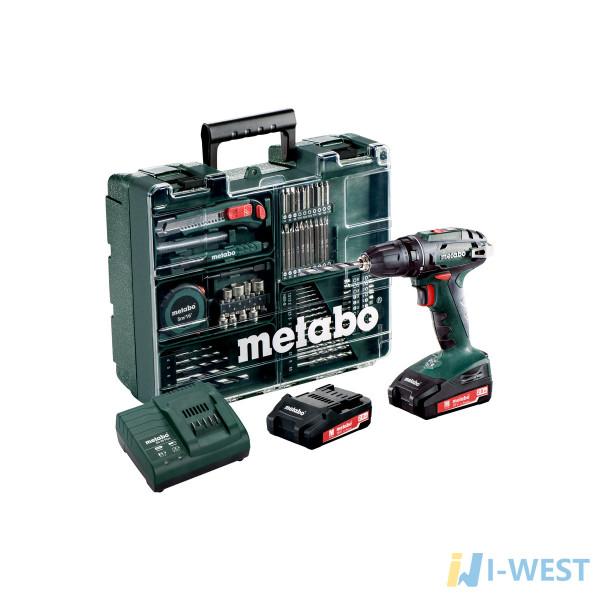 BS 18 Set (602207880) Акумуляторний дриль-шуруповерт Metabo