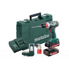 BS 18 Quick Set (602217870) Акумуляторний дриль-шуруповерт Metabo