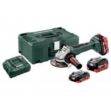 WB 18 LTX BL 125 Quick Set (613077940) Аккумуляторная угловая шлифовальная машина Metabo
