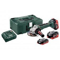 WB 18 LTX BL 125 Quick Set (613077940) Акумуляторна кутова шліфувальна машина Metabo