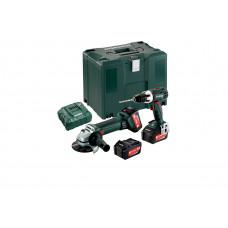 Combo Set 2.4.1 18 V (685038960) Акумуляторні інструменти в комплекті Metabo