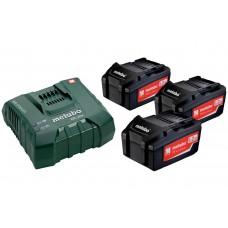 Базовый комплект 3 х 5,2 А·ч ASC Ultra (685061000) Metabo