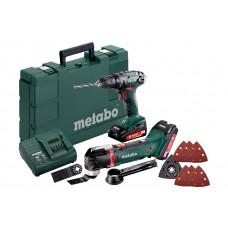 Combo Set 2.6.1 18 V (685081000) Аккумуляторные инструменты в комплекте Metabo