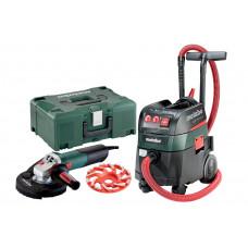 WE 15-125 HD Set GED 125 ASR 35 M ACP Set (690825000) Комплекты инструментов, работающих от электросети Metabo