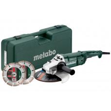 Set WE 2200-230 (691081000) Угловые шлифовальные машины Metabo