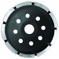 Круг алмазный сегментный шлифовальный (чашечный, 1 ряд) Ø180х5.0х22.2мм, 8500об/мин Sigma (1912051) SIGMA